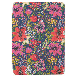 Vintage helle Blumenabdeckung muster-Apples iPad iPad Air Hülle