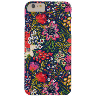 Vintage helle Blumenmuster iPhone 6 Plusfall Barely There iPhone 6 Plus Hülle