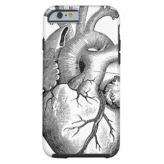 Vintage Herz-Anatomie | kundengerecht Tough iPhone 6 Hülle
