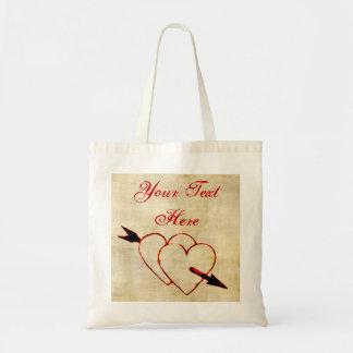 Vintage Herz-Taschen-Tasche