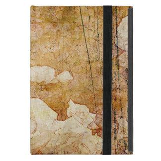 Vintage Hintergrundmit blumenbeschaffenheit Kunst iPad Mini Hülle