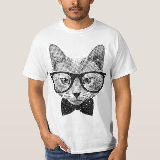 Vintage Hipsterkatze T Shirts
