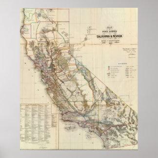 Vintage Baumaterialien Kaliforniens