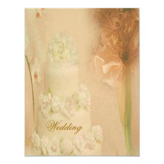 Vintage Hochzeit 10,8 X 14 Cm Einladungskarte