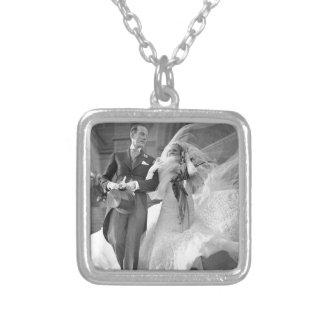 Vintage Hochzeit Personalisierte Halskette