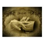Vintage Hochzeit… Mit diesem Ring I thee Mittwoch Postkarte