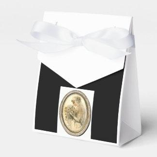 Vintage Hochzeit u. Brautparty-Gastgeschenk-Kasten Geschenkschachtel