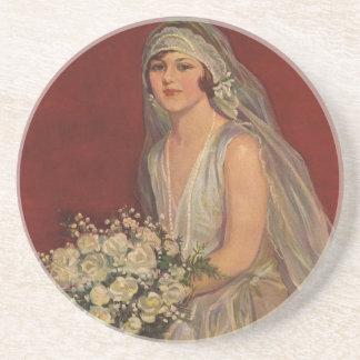 Vintage Hochzeit, viktorianische Untersatz