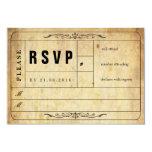 Vintage Hochzeits-Karte UAWG Karte 8,9 X 12,7 Cm Einladungskarte