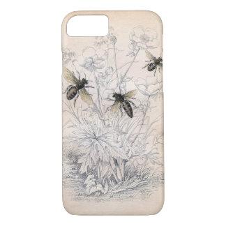 Vintage Honig-Bienen-Kunst iPhone 8/7 Hülle