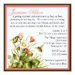 Vintage Hummel-Bienen-Brautparty-Einladung