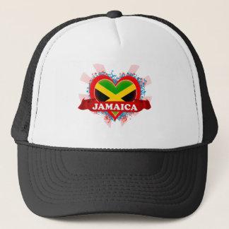Vintage i-Liebe Jamaika Truckerkappe