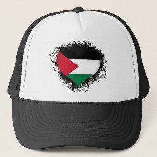 Vintage i-Liebe Palästina Truckerkappe