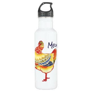 Vintage IllustrationsVieh-Entwurfsaufmachung Trinkflasche