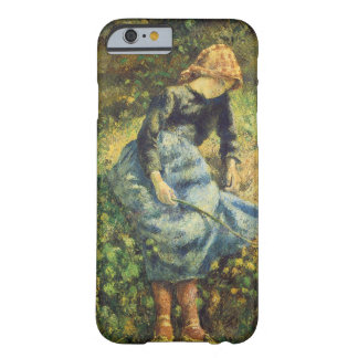 Vintage Impressionismus-Kunst, Shepherdess durch Barely There iPhone 6 Hülle