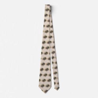 Vintage Insekten und Wanzen, Rhino-Nashorn-Käfer Krawatte