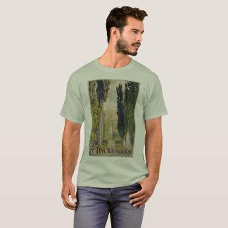 Vintage italienische Reiseanzeige Tivoli Lazio Rom T-Shirt