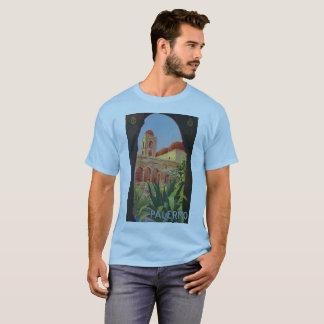 Vintage italienische Reiseanzeige Zwanzigerjahre T-Shirt