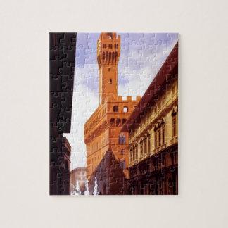 Vintage italienische Tourismus-Plakat-Szene Puzzle