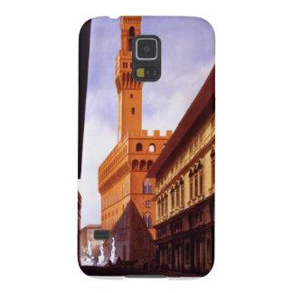 Vintage italienische Tourismus-Plakat-Szene Samsung Galaxy S5 Hülle