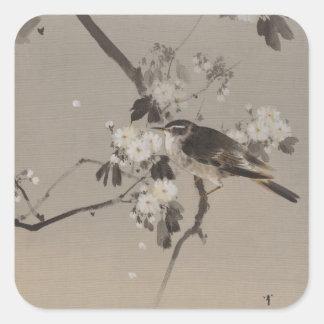 Vintage Japaner Ukiyo-e Malerei eines Vogels