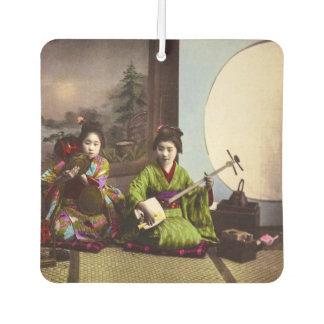 Vintage japanische Geisha-Musical-Unterhaltung Lufterfrischer