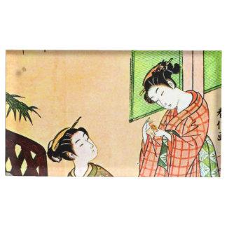 Vintage japanische Malerei der zwei