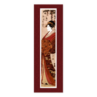 Vintage japanische Malerei-Geschäfts-Karte Jumbo-Visitenkarten