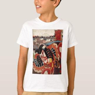 Vintage japanische Malerei - Kabuki Schauspieler T-Shirt