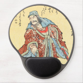 Vintage japanische Samuraiskizzetätowierung Gel Mousepad