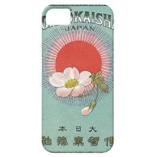 Vintage japanische Seide-Handels-Karte - iPhone iPhone 5 Schutzhülle