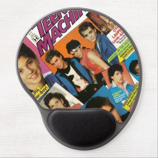 Vintage jugendlich Zeitschrift Mousepad Gel Mouse Matte