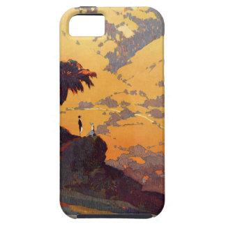 Vintage Kalifornien-Tourismus-Plakat-Szene Hülle Fürs iPhone 5