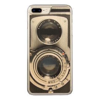 Vintage Kamera - alter Mode-Antiken-Blick Carved iPhone 8 Plus/7 Plus Hülle