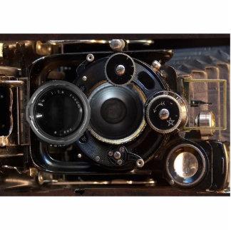 Vintage Kamera-Antiken-Fotografie Fotoskulptur Magnet