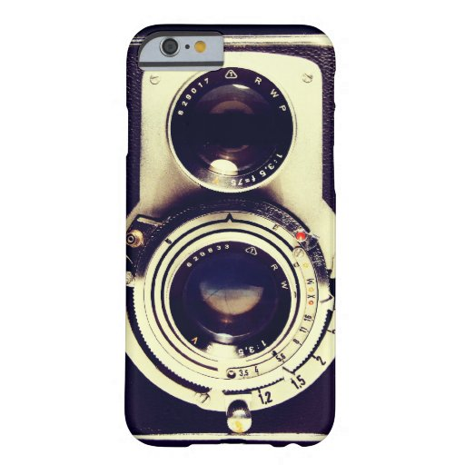 Vintage Kamera Barely There iPhone 6 Hülle