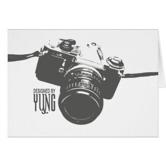 Vintage Kamera Karte