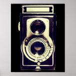 Vintage Kamera Plakat