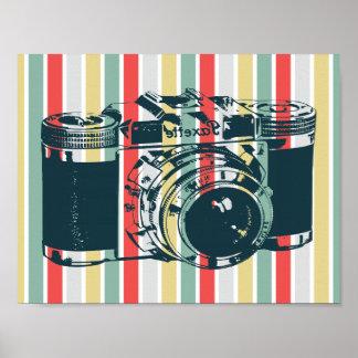 Vintage Kamera Poster