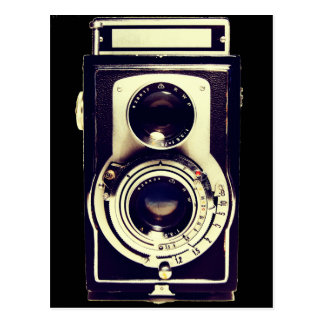 Vintage Kamera Postkarte