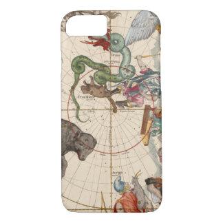 Vintage Karte des Nordpols iPhone 8/7 Hülle