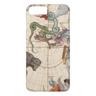 Vintage Karte des Nordpols iPhone 8 Plus/7 Plus Hülle