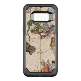 Vintage Karte des Nordpols OtterBox Commuter Samsung Galaxy S8 Hülle