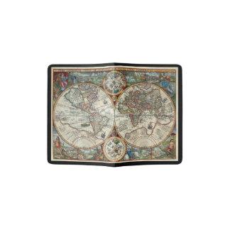 Vintage Karte - Orbis Plancius 1594 Passhülle