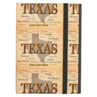 Vintage Karte Texas