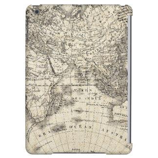 Vintage Karte von Europa und von Asien