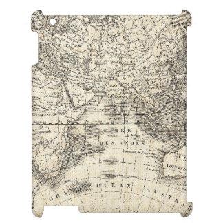 Vintage Karte von Europa und von Asien iPad Hülle
