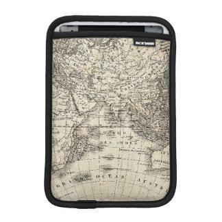 Vintage Karte von Europa und von Asien Sleeve Für iPad Mini