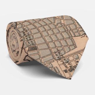 Vintage Karte von Havana Kuba (1898) 2 Krawatte