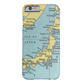 Vintage Karte von Japan Barely There iPhone 6 Hülle